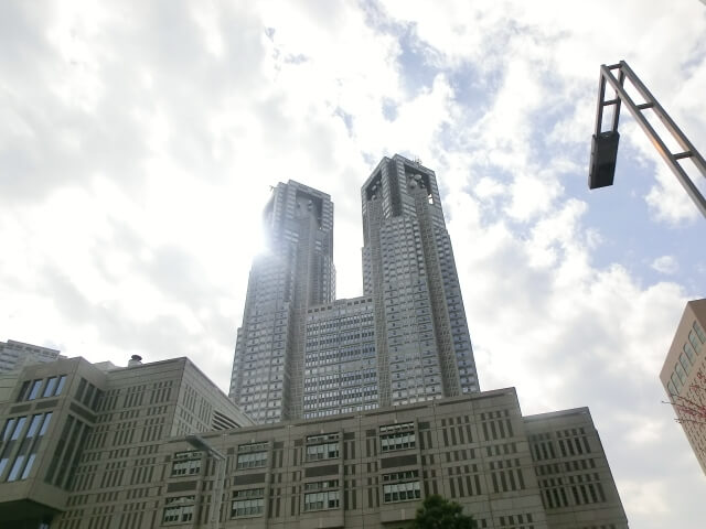 東京都庁全景
