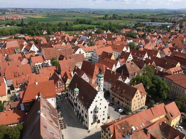 ヨーロッパの古都の街並み