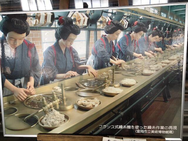 富岡製糸場の女工たち