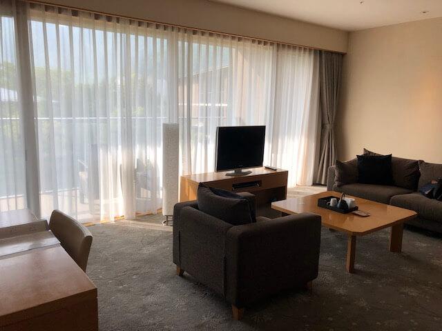箱根翡翠の室内