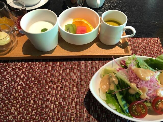 箱根翡翠の朝食