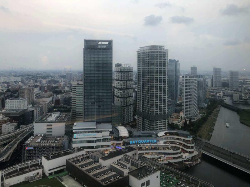 横浜スカイビルからの眺め