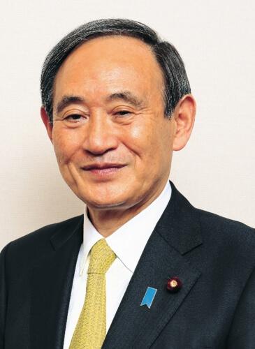 菅義偉氏の画像