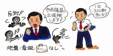菅氏のイメージ画像