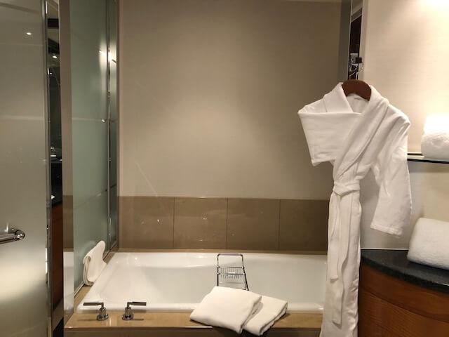 リッツ・カールトン東京クラブルーム浴室